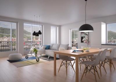 3-roms leilighet